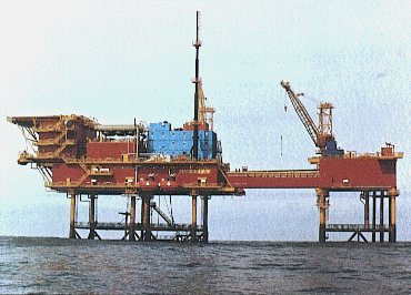 Types of offshore jacket